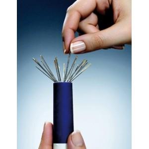 Porta agujas magnético