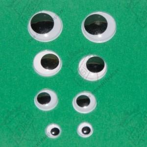 Ojos para muñecos (pegar)