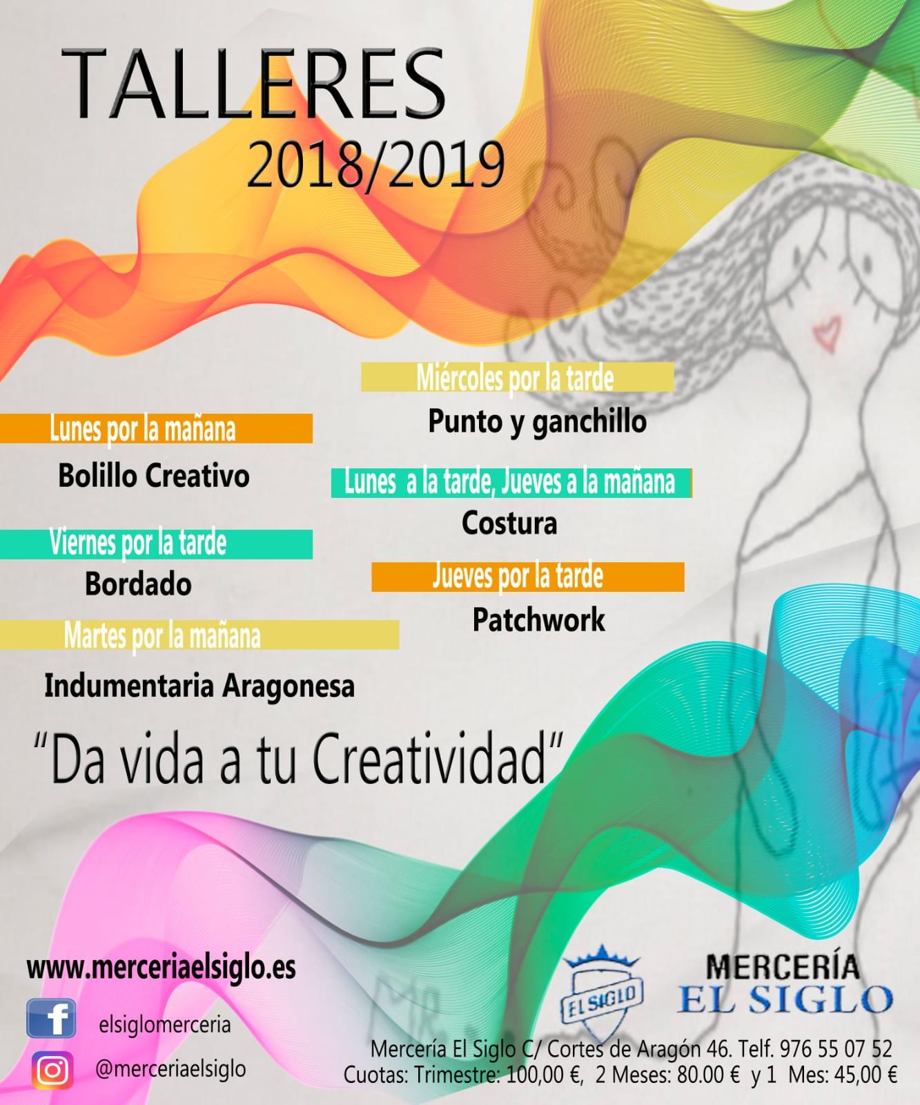 cursos y talleres 2017-2018